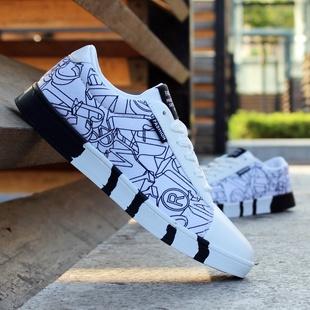 2017春季男士透气板鞋休闲鞋平板学生帆布鞋单鞋子韩版男鞋运动鞋