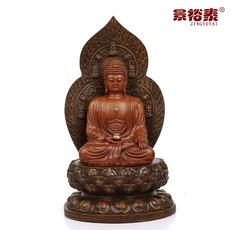 景裕泰 背板药师佛菩萨 释迦牟尼大势至菩萨保平安家居佛像摆件
