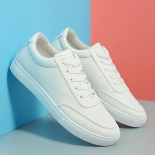 春季新款男鞋小白鞋男生板鞋韩版运动休闲鞋透气帆布鞋子潮流学生