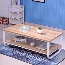 茶几简约现代 客厅宜家小户型实木茶几桌子 长方形简易桌特价包邮