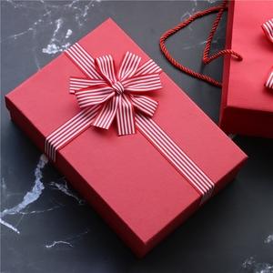 婚礼伴手礼回礼礼盒 生日礼物包装 span class=h>盒子 /span> 中式硬