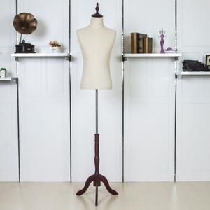 新款玻璃钢橱窗人台无头男装全身人型模特道具假人服装店展示衣架