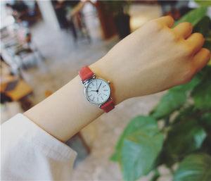 文艺女神表<span class=H>手表</span>男女韩版森系潮流学生小清新皮带简约一对ulzzang