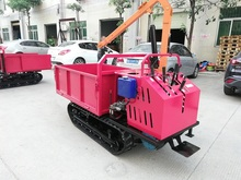 Electric Crawler Transport Vehicle Diesel Mountain Construction Site Transport Agricultural Vehicle Climbing Engineering Sandstone Tree Transfer Vehicle