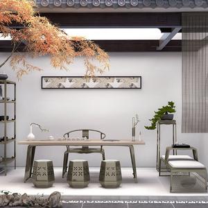 新中式简约现代茶桌椅组合功夫茶桌<span class=H>茶几</span>仿古茶室办公室轻奢<span class=H>家具</span>