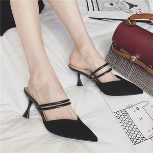 <span class=H>鞋子</span>女2018新款时尚包头凉鞋高跟鞋<span class=H>小码</span><span class=H>女鞋</span>31 32 33大码41 42 43