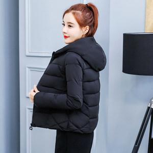冬季棉袄女2018新款小<span class=H>棉衣</span>短款韩版宽松大码加厚保暖羽绒棉服外套