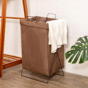 聚可爱 可折叠布艺脏衣篮家用洗衣篮大号收纳筐浴室衣服收纳篮