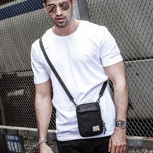 蹦迪嘻哈土酷ins手机腰包男士小包休闲单肩斜挎背包迷你小挎包男