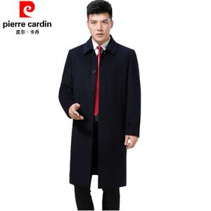 皮尔卡丹<span class=H>男装</span>毛<span class=H>呢</span>子<span class=H>大衣</span>冬季羊绒<span class=H>大衣</span>中老年过膝超长款加厚<span class=H>呢</span>外套