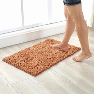 雪尼尔<span class=H>地垫</span>浴室防滑吸水门垫进门门口厨房卧室卫生间脚垫垫子地毯