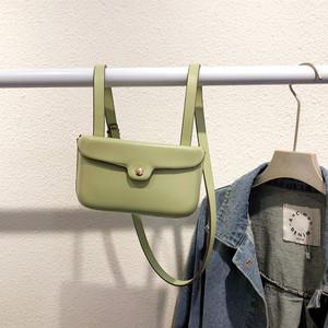 韩国时尚纯色女包复古质感小包单肩小皮包百搭零钱包潮流斜挎迷你