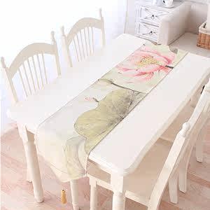 小清新垫布折叠桌座梳妆面料田园美甲泡美式<span class=H>沙发</span>亚麻棉桌旗餐边柜