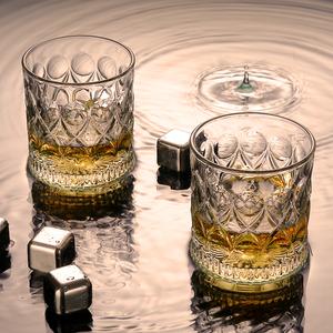 威士忌酒杯玻璃制作洋酒杯