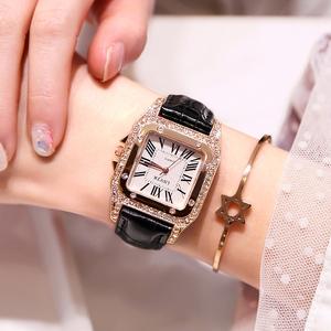 女士<span class=H>手表</span>防水时尚款2019新款大气水钻女学生韩版简约潮流网红同款