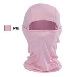 日本购户外骑行装备水上运动防晒面罩赛车<span class=H>头盔</span>内帽电动车头套护脸