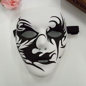 街舞化妆舞会<span class=H>面具</span>男全脸小丑v字恐怖鬼脸成人仇杀队死神