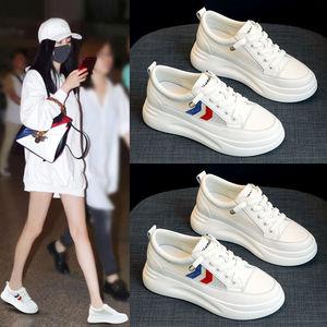 厚底小白鞋女学生韩版2020年新款老爹鞋女百搭休闲网面透气板鞋21