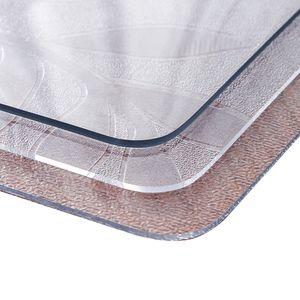 PVC防水软材质玻璃彩色塑料餐<span class=H>桌布</span> 磨砂桌垫免洗茶几垫台布水晶板