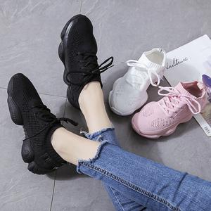 领300元券购买夏季运动鞋2019新款透气网面跑步