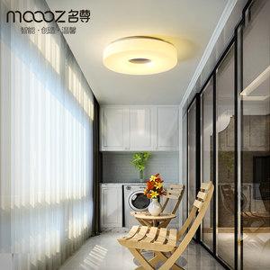过道灯 led圆形阳台灯简约现代玄关走廊灯飘窗创意厨房吸顶灯具