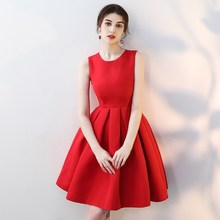 The Birth of Korean Drama Beauty Sarah Hanyiser's Popular Red Dress Dress Dress Dress Hong Xin Skirt
