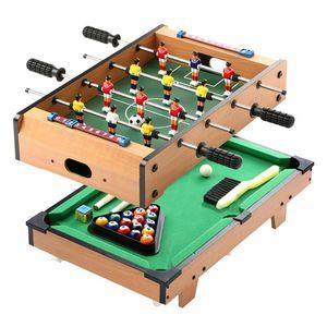皇冠桌上足球冰球台球桌 儿童桌球家用桌面足球桌双人对战<span class=H>玩具</span>