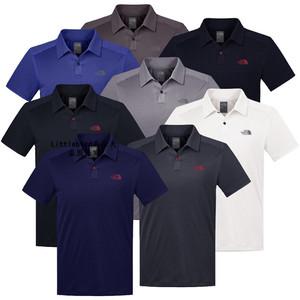 18夏季高尔夫<span class=H>服装</span>速干<span class=H>POLO</span><span class=H>衫</span>男 <span class=H>休闲</span><span class=H>运动</span>球衣 golf薄款短袖T恤男