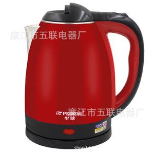 双层防烫电热水壶2L家用厨房电器食品级不锈钢自动断<span class=H>电水壶</span>小家电