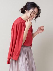日本代购 qualite受欢迎简单舒适柔美干净针织<span class=H>开衫</span>
