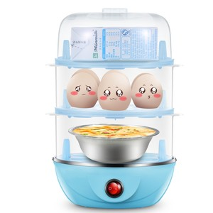 荷包蛋煮蛋器 小型单层家用迷你<span class=H>微波炉</span>1个单个特价小容量蒸蛋器