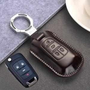 2011 12 14款别克君越<span class=H>钥匙包</span>真皮老君威18款新英朗全包智能钥匙套