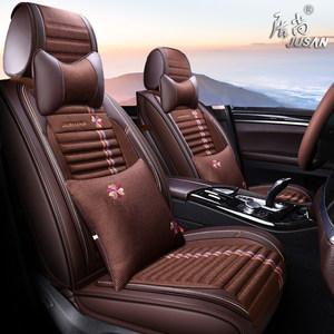 汽车坐垫四季吉利帝豪GS/2016款运动版臻尚型优雅版布艺<span class=H>座套</span>全包