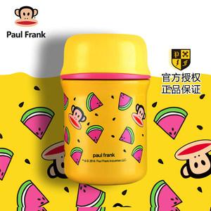 PaulFrank/大嘴猴便携保温杯女可爱小巧水杯儿童学生大肚<span class=H>杯子</span>水壶