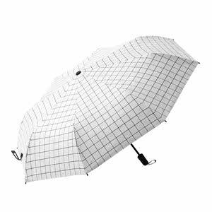 全自动雨伞<span class=H>太阳伞</span>三折叠防晒晴雨两用男女伞黑胶遮阳超大紫外线伞