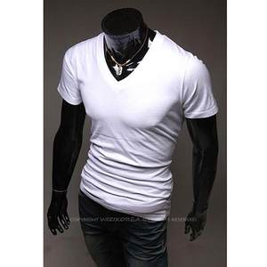 Big yards men&#39;s whi<span class=H>t</span>e loose <span class=H>t</span>-shir<span class=H>t</span>s <span class=H>with</span> shor<span class=H>t</span> sleeves男<span class=H>T</span>恤