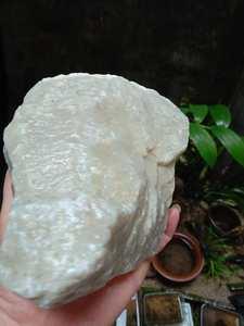 新疆且末和田玉糖白玉石麻糖料大块练手毛料老熟料玉矿石山料<span class=H>原石</span>