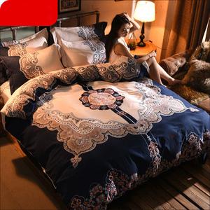 网红ins四件套大版床单被套床上用品