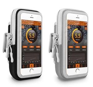 运动手腕包 臂包通用男女户外手机包袋套 手臂包透明夜跑健身装备
