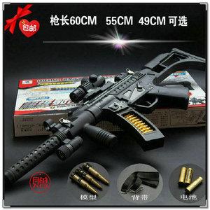 包邮电动<span class=H>玩具枪</span> 声光音乐冲锋枪 男孩狙击枪玩具 玩具机关枪