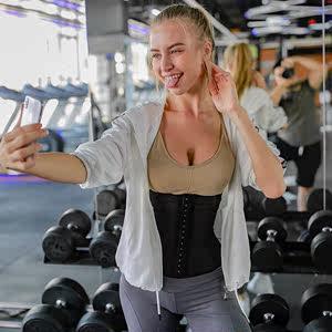 收胃收腹带 燃脂收腹带女瘦身护腰封燃脂塑身衣健身美体