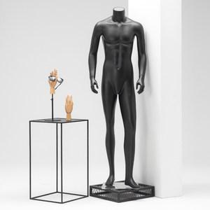 装店假人橱窗展示道具模特道具男全身无头服人台韩版男装模特架