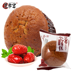 兰象岩红枣蛋糕红枣蛋糕450g早餐蛋糕枣沙面包糕点零食点心
