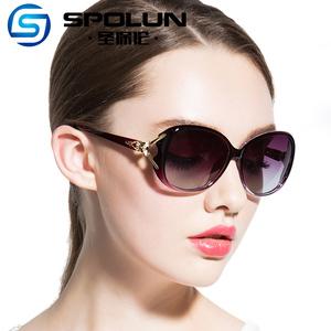 偏光太阳镜女潮2019新款明星款开车驾驶太阳<span class=H>眼镜</span>渐变墨镜定做近视