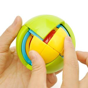 儿童宝宝开发益智球3D智力球迷宫玩具立体图DIY拼装组装积木<span class=H>魔方</span>