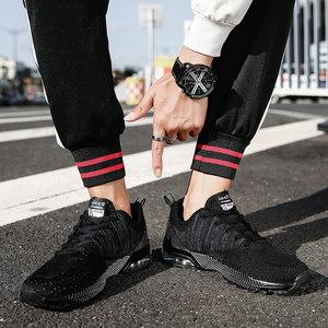 加大加肥男运动鞋2019新款春夏季网面透气大码<span class=H>男鞋</span>45-48肥胖宽脚