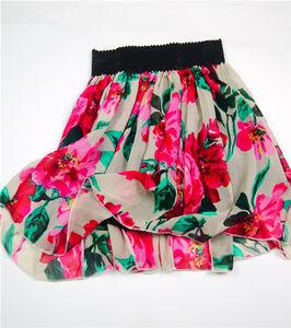 真丝<span class=H>短裙</span>蓬蓬裙夏季外穿 收腰显瘦半身裙真丝清仓处理不退不换