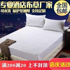 宾馆床上用品批发酒店防滑垫保护垫被星级加厚折叠软垫席梦思褥子