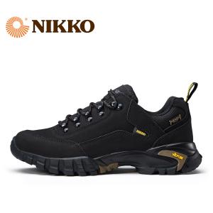 日高nikko鞋v底登山鞋男士冬季户外男鞋登山鞋女防水防滑<span class=H>徒步鞋</span>