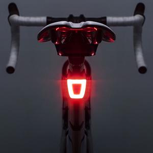 洛克兄弟<span class=H>头盔</span>尾灯自行车灯夜骑警示USB充电高亮防水骑行装备配件